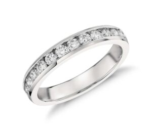 Diamond Channel-Set Ring by Blue Nile