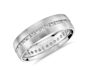 Channel-Set Diamond Eternity Ring by Blue Nile