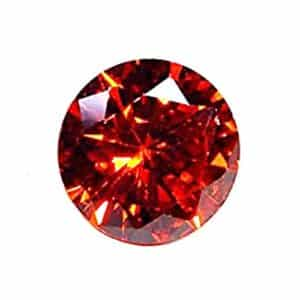 Natural Red Zircon Gemstone by Pushpa Retail