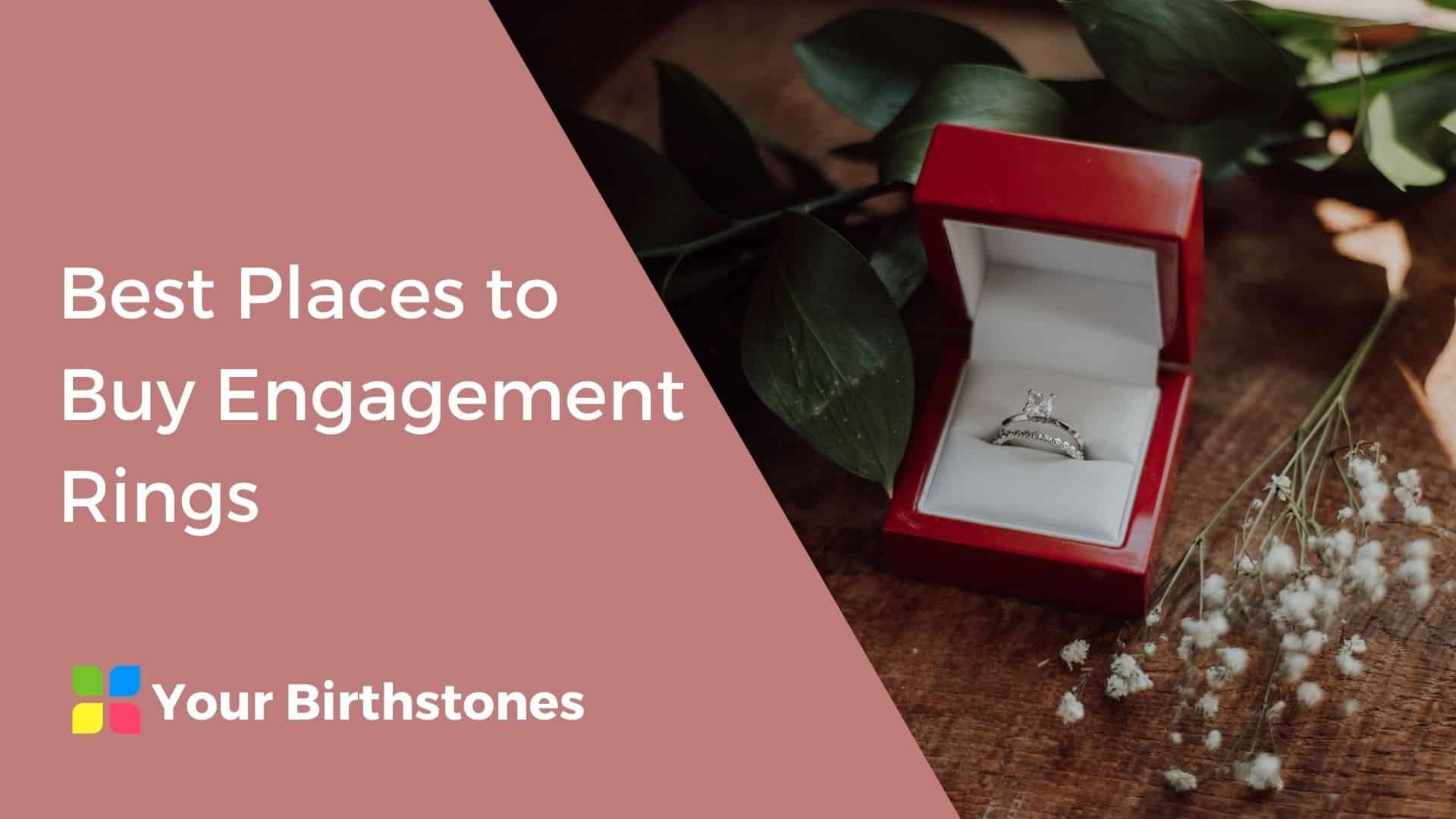 best places to buy engagement rings review