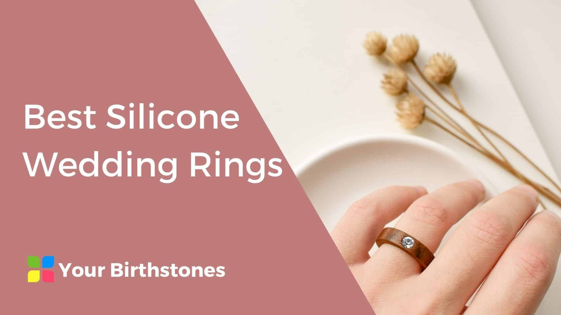 best silicone wedding rings review