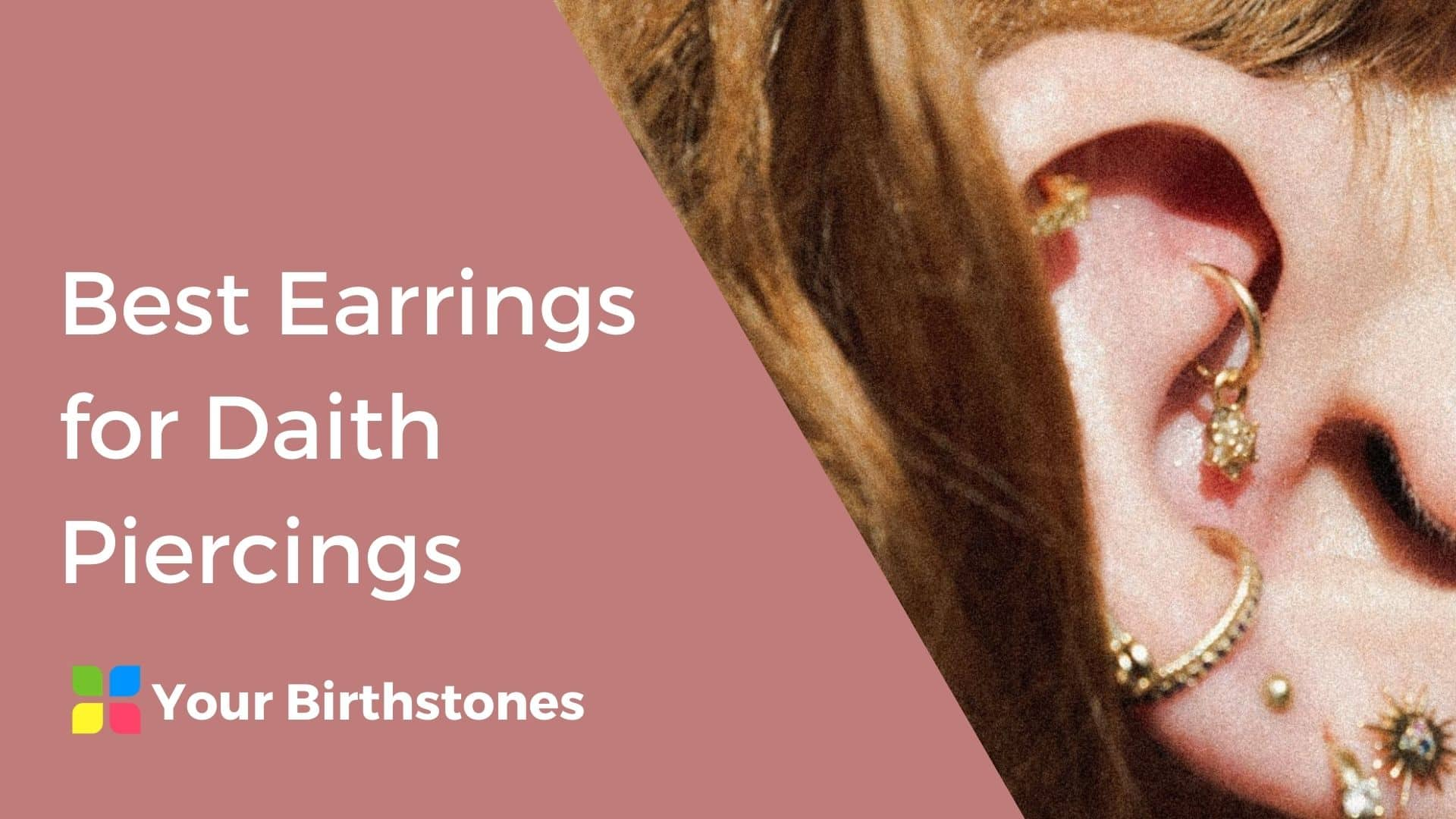 Best Earrings for Daith Piercing