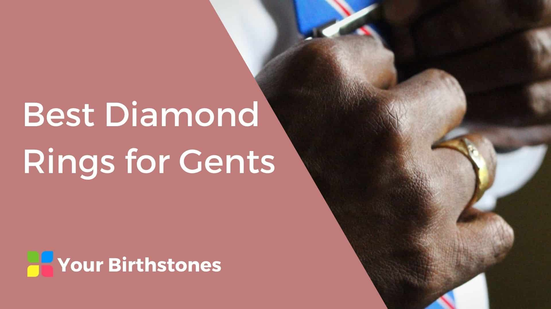 Best Diamond Rings for Gents