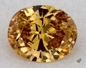 0.19 Carat Oval Diamond