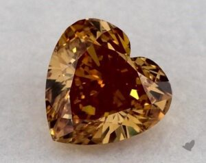 0.46 Carat Heart Diamond