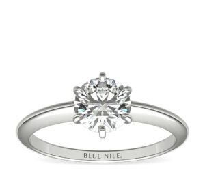 Astor Classic Six-Prong Solitaire by Blue Nile