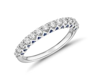 Hidden Sapphire and Diamond Ring by Blue Nile
