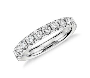Riviera Pavé Diamond Ring by Blue Nile
