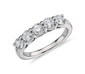 Eternal Five Stone Diamond Ring by Blue Nile