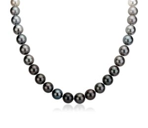 Gradient South Sea and Tahitian Pearl Necklace by Blue Nile