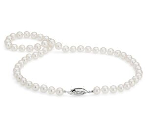 Premier Akoya Cultured Pearl Strand Necklace by Blue Nile