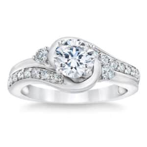 Round Brilliant 1.35 ct. Diamond Platinum Ring by Costco Jewelry