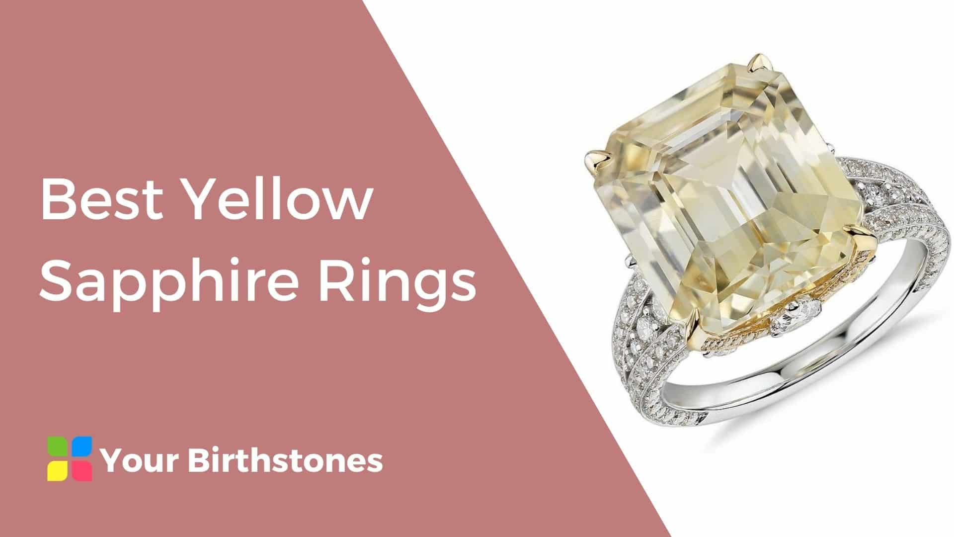 best yellow sapphire rings review