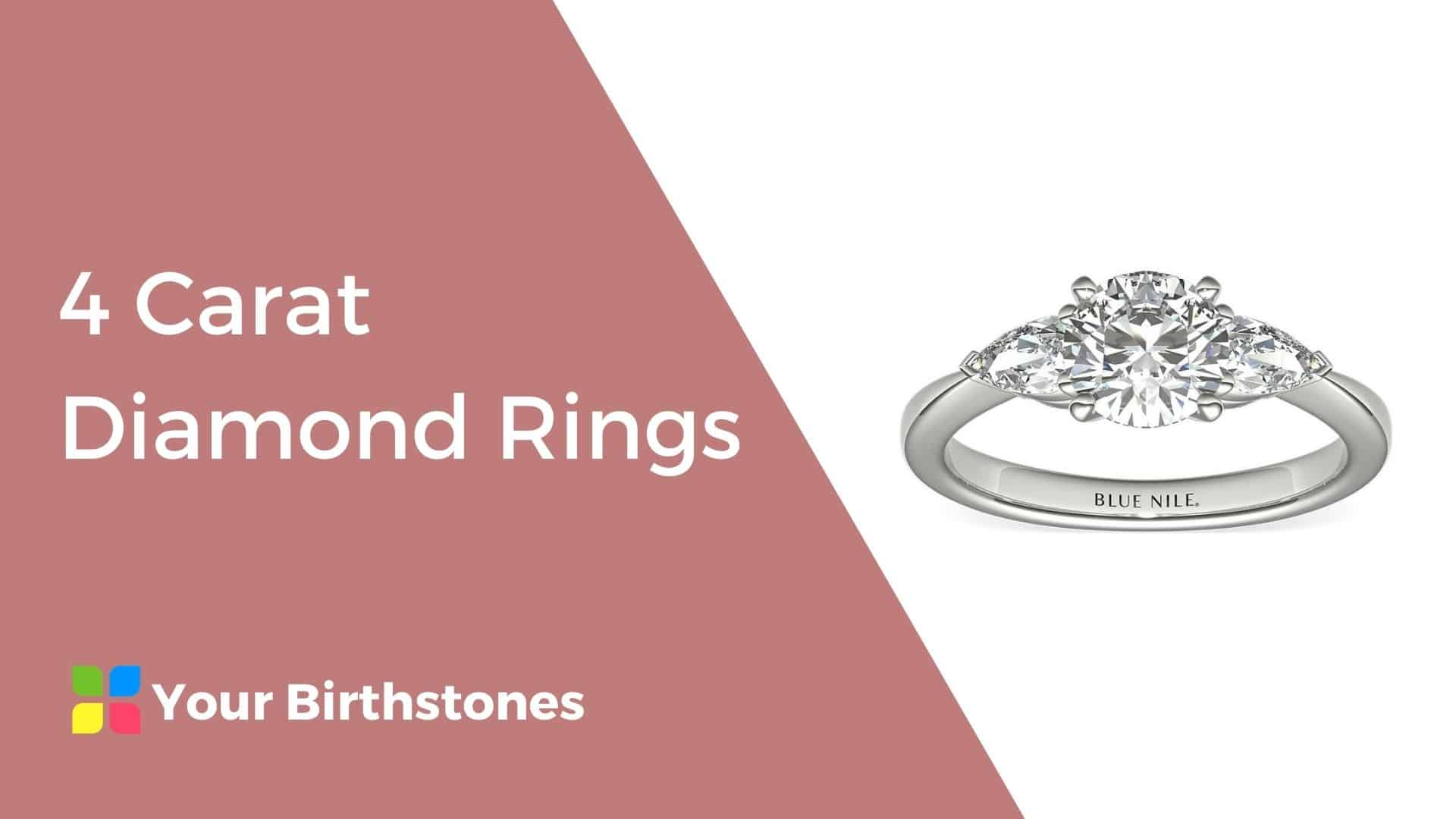 Best 4 Carat Diamond Rings