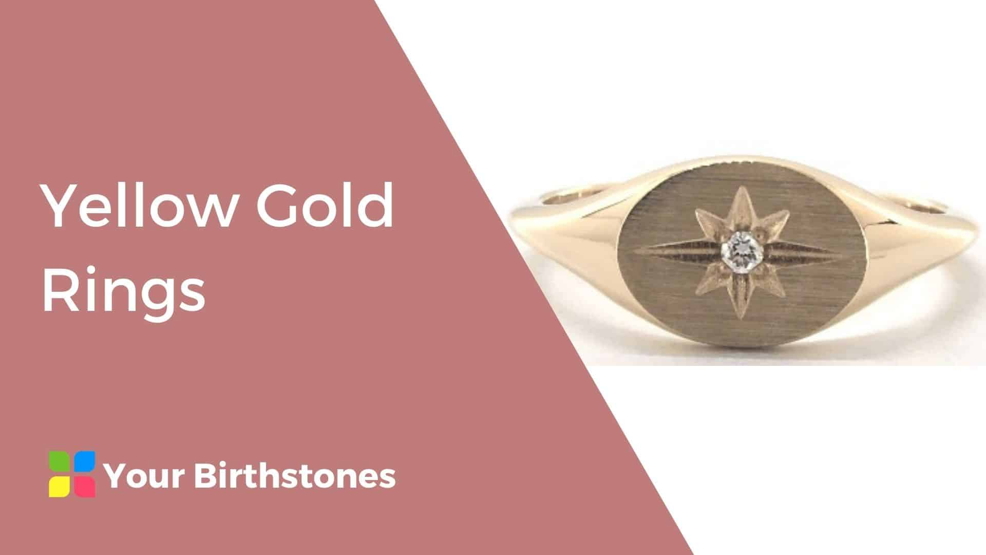best yellow gold rings review