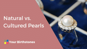 Natural vs cultured pearl