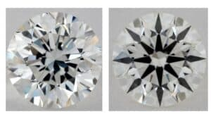comparison of 1.5 carat diamond